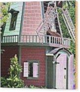 Windmill - Photopower 1554 Wood Print