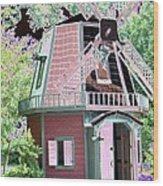 Windmill - Photopower 1556 Wood Print