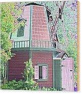 Windmill - Photopower 1557 Wood Print