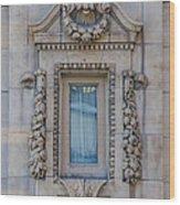 Window Across The Street Wood Print