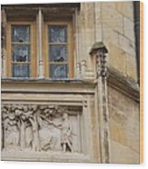 Window And Relief Palace Ducal Wood Print