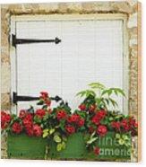 Window Box 2 Wood Print