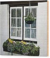 Window Box Wood Print