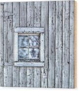 Window Wood Print by Juli Scalzi