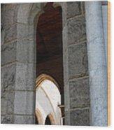 Window Cloisters Nyc Wood Print