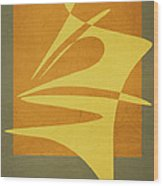 Window Dressing Wood Print