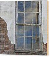 Window Elizabethtown Illinois Wood Print