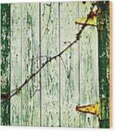 Window Hatch Wood Print