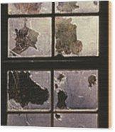 Window Holes Wood Print