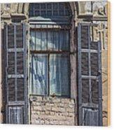 Window In Tel Aviv Wood Print