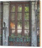 Window In The Quarter Wood Print