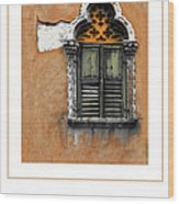 Window In Verona Poster Wood Print