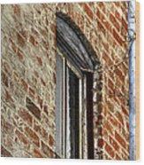 Window Pole 13153 Wood Print