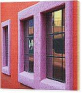 Window Reflections 2 Wood Print