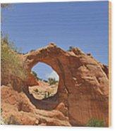 Window Rock Arizona Wood Print
