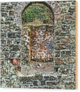 Window To A Bygone Heritage Wood Print