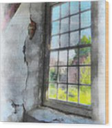 Window To The Past Wood Print