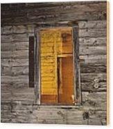 Window To The Soul II  Wood Print