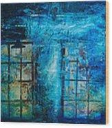 Window To The Soul  Wood Print