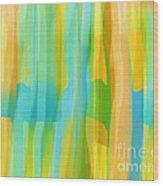 Window To The South Wood Print by Hilda Lechuga