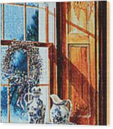 Window Treasures Wood Print