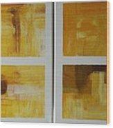 Window With View Vi Wood Print
