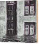 Windows And Doors Wood Print