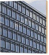 Windows In Copenhagen Wood Print