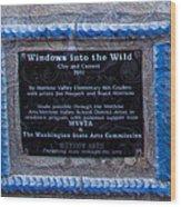 Windows Into The Wild Wood Print
