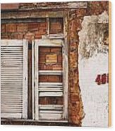 Windows Of Alcantara Brazil 1 Wood Print