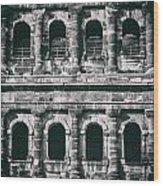 Windows Of The Porta Nigra Wood Print