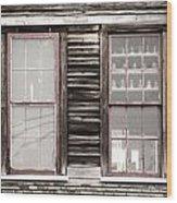 Windows To Valentown Wood Print