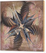 Winds Of Change Wood Print by Deborah Benoit
