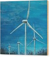 Winds Of Change Wood Print