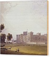 Windsor Castle From The South End Wood Print
