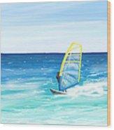 Windsurf Wood Print
