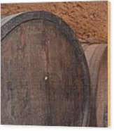 Wine Barrel Wood Print