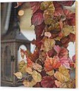 Wine Bower Wood Print