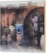 Wine Cellar Photo Art Wood Print