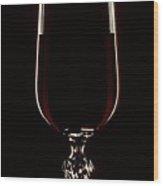 Wine Glass Wood Print