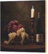 Wine Harvest Still Life Wood Print