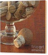 Wine Lover Wood Print