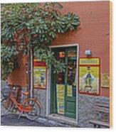 Wine Shop Monterosso Italy Dsc02584  Wood Print