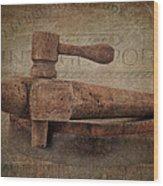 Wine Tap Wood Print