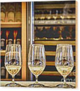 Wine Tasting  Wood Print