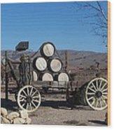 Wine Wagon Wood Print