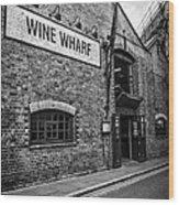 Wine Warehouse Wood Print