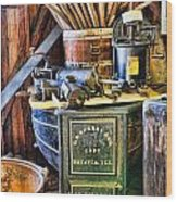 Winemaker - Time For A New Vintage Wood Print by Lee Dos Santos