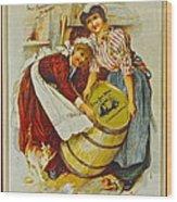 Winery Art Wood Print