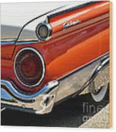 Wing And A Skirt - 1959 Ford Wood Print